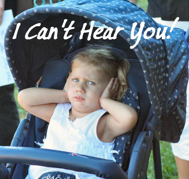 child covering ears-no hear