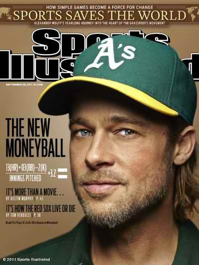Brad Pitt SI Cover Moneyball